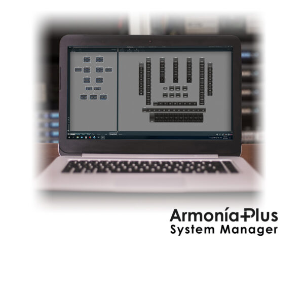 ArmoníaPlus Software Everything is under control.